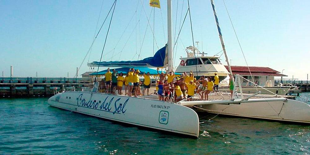 "The ""Sun Cruise"" with DOLPHIN interactive SWIM from Varadero"