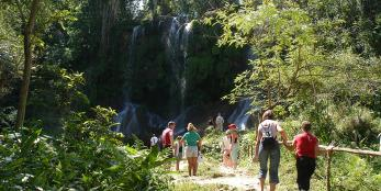 "Tour to ""El Nicho"" Natural Park with Jeep"